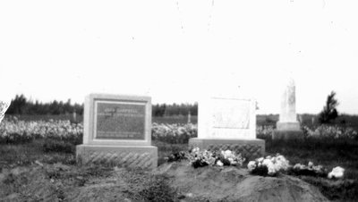 John and Frede Campbell's grave