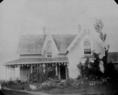Parsonage at Bideford, P.E.I., ca.1895.