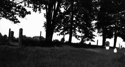 Zion Graveyard where Lucy Maud Montgomery's baby Hugh is buried