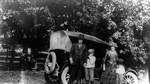 The Macdonald family starting for Bala, July 1922.