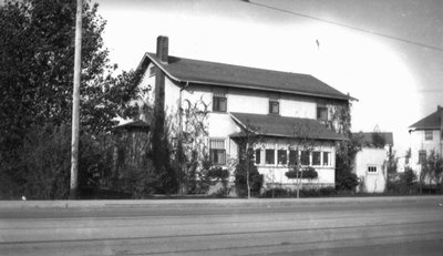 Laura Agnew's house, Saskatoon, SK.