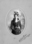 Lucy Maud Montgomery age 25, 1899.