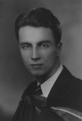 Stuart Macdonald, 1940.  Graduation from Medical School.  Toronto, ON.