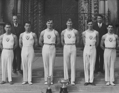University of Toronto Gymnastic Team, Stuart Macdonald, 1936-37.