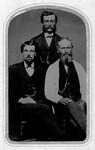 Hugh John Montgomery (centre), ca.1870.