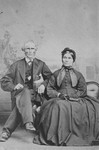 Great Uncle John MacNeill and his wife, ca.1870's.