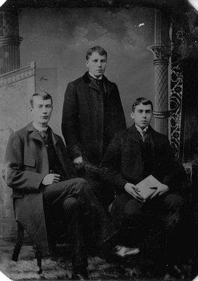 J. Sutherland, Lucy Maud Montgomery's cousin.  Cavendish, P.E.I., ca.1880's.  (Tintype).