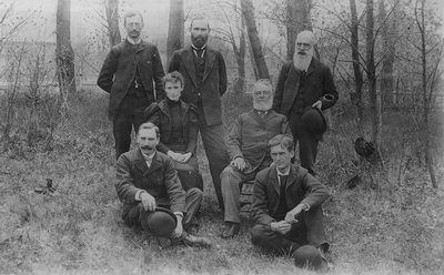 Professors at Prince of Wales College.  Charlottetown, P.E.I., ca.1893-95.