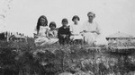 Mrs. E. Mutch with children.