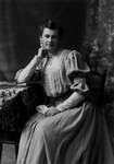 Ella May Hyatt portrait, mother of Luella Reid Macdonald