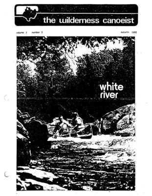 Nastawgan (Richmond Hill, ON: Wilderness Canoe Association), Fall 1980