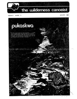 Nastawgan (Richmond Hill, ON: Wilderness Canoe Association), Fall 1981