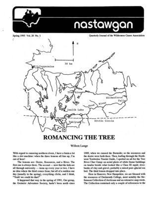 Nastawgan (Richmond Hill, ON: Wilderness Canoe Association), Spring 1993