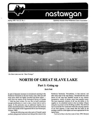 Nastawgan (Richmond Hill, ON: Wilderness Canoe Association), 1 Mar 1995