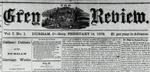 Grey Review Digital Copies 1878-1897