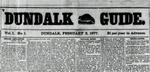 Dundalk Guide Digital Copies 1877-1878