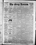 Grey Review, 19 Oct 1882