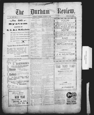 Durham Review (1897), 6 Jan 1898