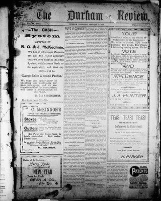 Durham Review (1897), 13 Jan 1898