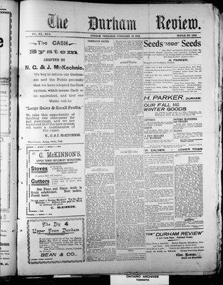 Durham Review (1897), 10 Feb 1898
