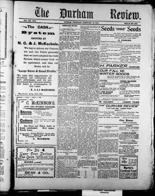 Durham Review (1897), 24 Feb 1898
