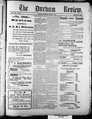 Durham Review (1897), 3 Mar 1898
