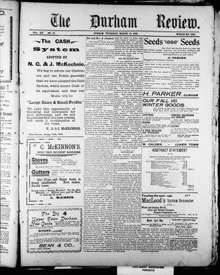 Durham Review (1897), 10 Mar 1898
