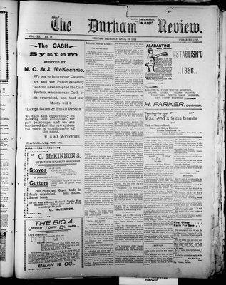 Durham Review (1897), 28 Apr 1898