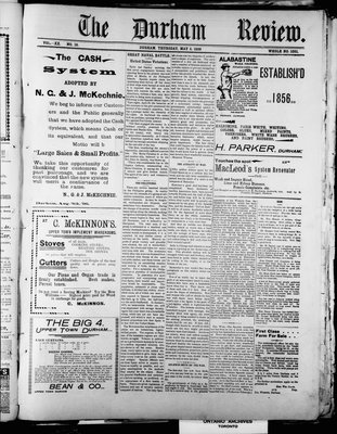 Durham Review (1897), 5 May 1898