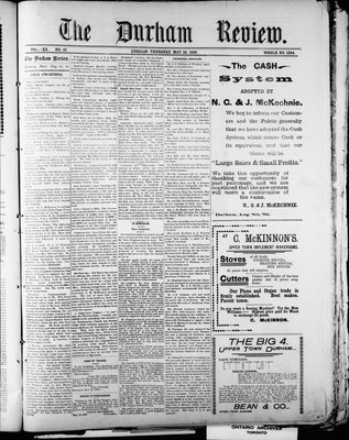 Durham Review (1897), 26 May 1898
