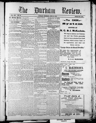 Durham Review (1897), 16 Jun 1898