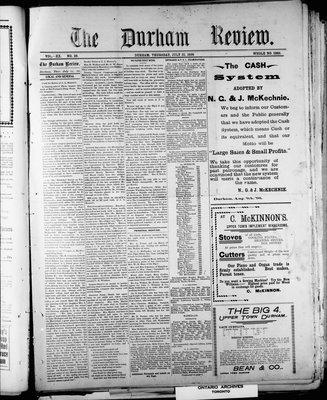 Durham Review (1897), 21 Jul 1898