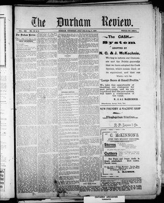 Durham Review (1897), 28 Jul 1898