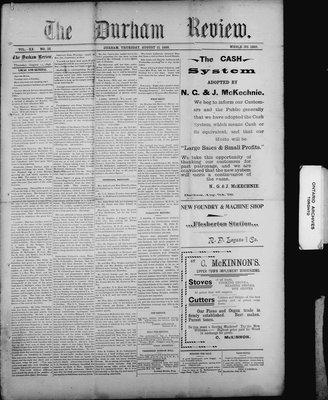 Durham Review (1897), 11 Aug 1898