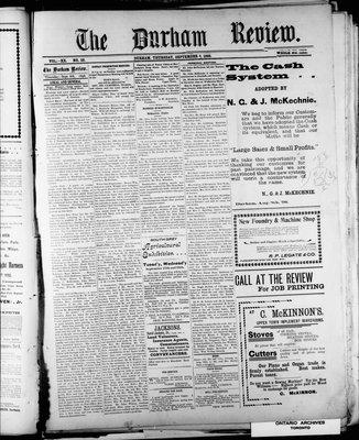 Durham Review (1897), 8 Sep 1898
