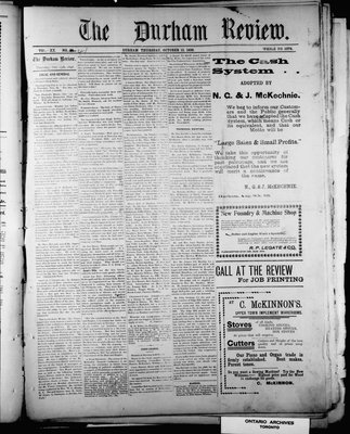 Durham Review (1897), 13 Oct 1898