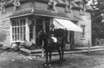 Rev. Kipling on Horseback, Dunchurch, 1910
