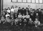 Dunchurch Public School Class, circa 1945