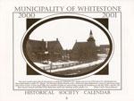 Whitestone Historical Society Calender -  2000 & 2001
