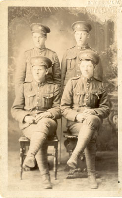 Whitestone Township Soldiers, 1915
