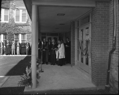 Official opening of the Dining Hall, Waterloo College and Evangelical Lutheran Seminary of Canada