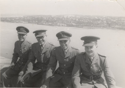 Waterloo College detachment of the Canadian Officers' Training Corps cadets in Quebec City