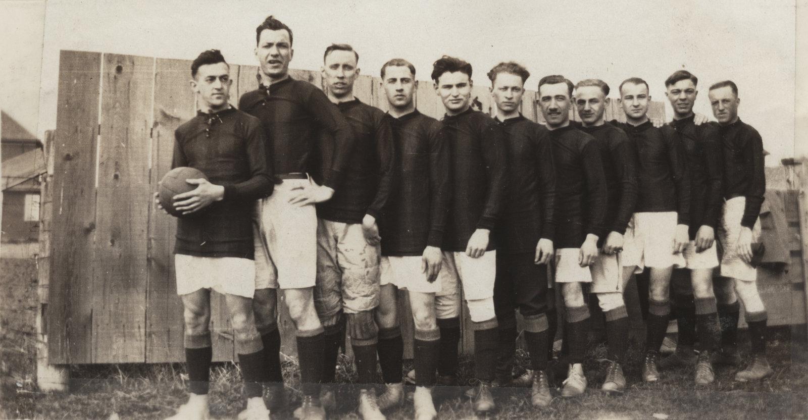 Waterloo College soccer team, 1924