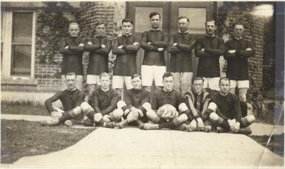Waterloo College soccer team, 1925