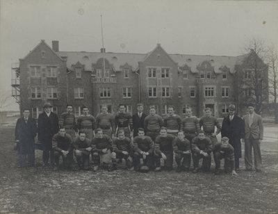Waterloo College rugby team, 1931