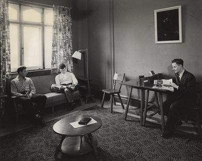 Men's Common Room, Willison Hall, Waterloo College