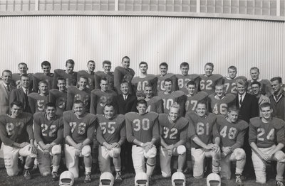 Waterloo Lutheran University football team, 1961-62
