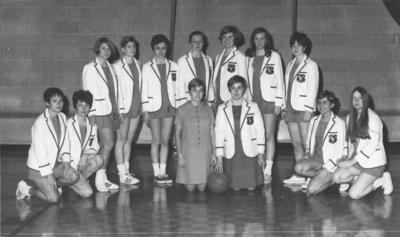 Waterloo Lutheran University women's basketball team, 1968-69