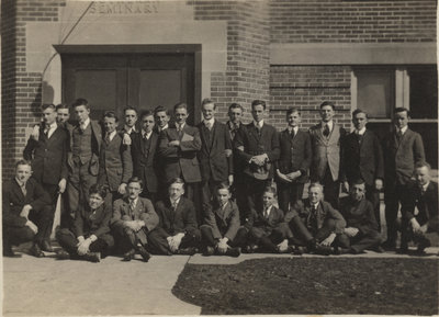 Waterloo College School students, 1918-1919