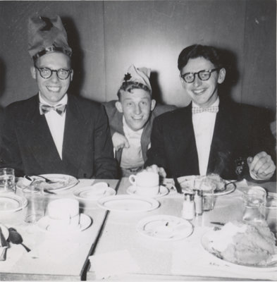 Waterloo College Christmas banquet, 1953